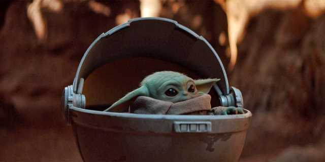 The baby Yoda species that the Mandalorian finds on his bounty for the Baron.