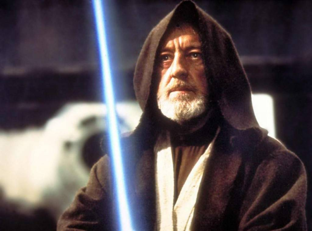 Ben Kenobi from a New Hope. The older version of Obi-Wan after years of exile in the desert. He got Luke out of Tatooine and helped to save the galaxy and Darth Vader.