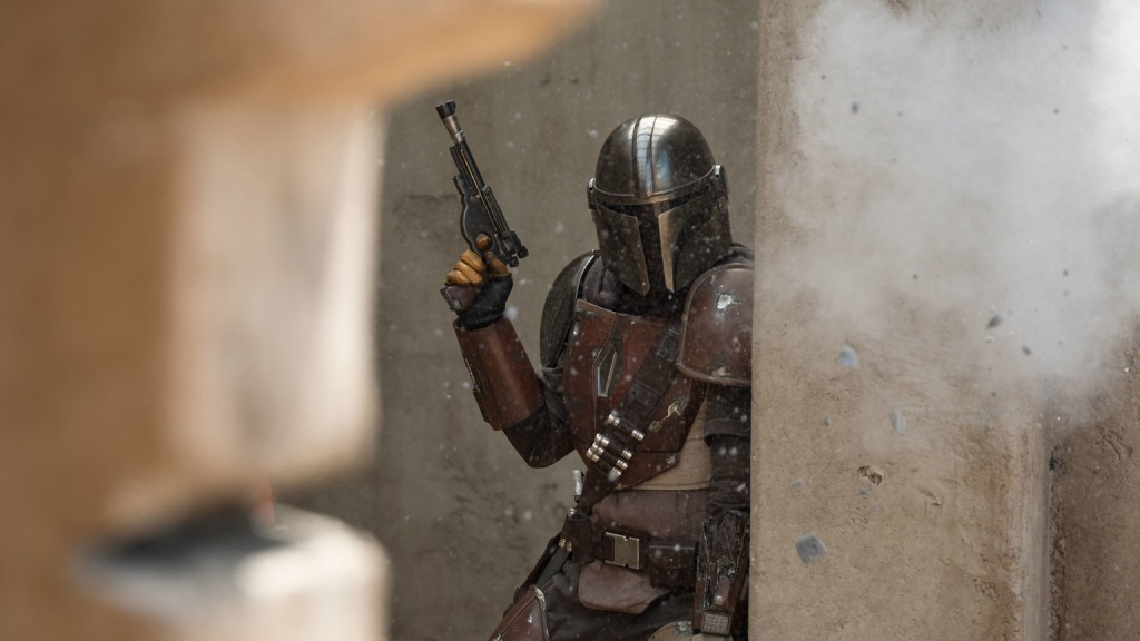 The Mandalorian; the main character for the show on Disney+ first ever live action star wars show