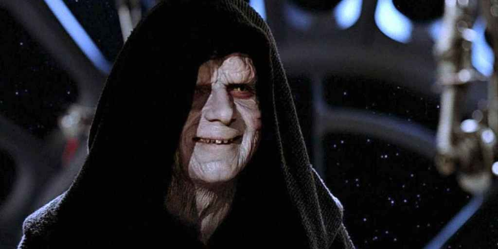 Palpatine in the Death Star