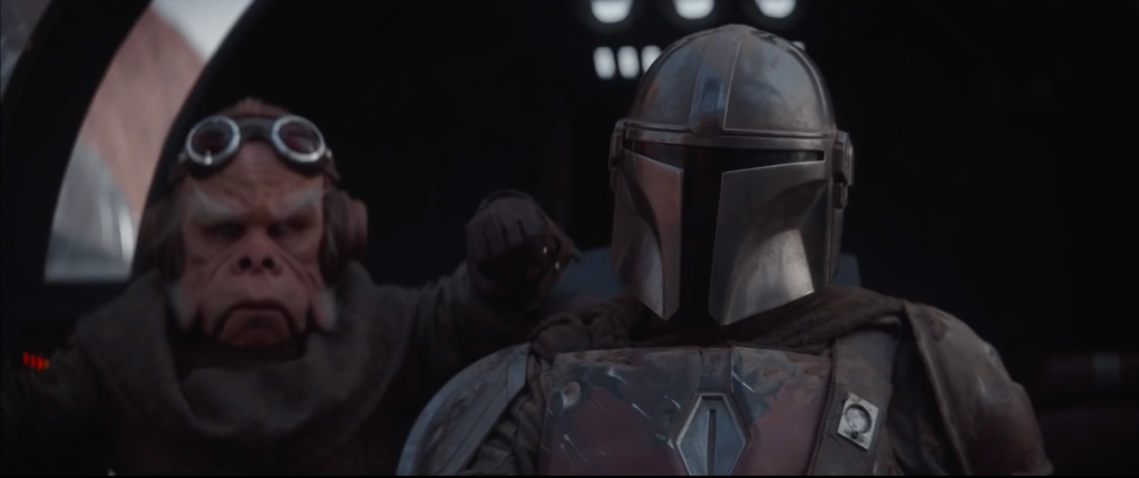 Kuuil with the Mandalorian