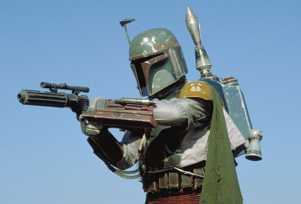 Boba Fett from the original trilogy his jetpack is iconic.