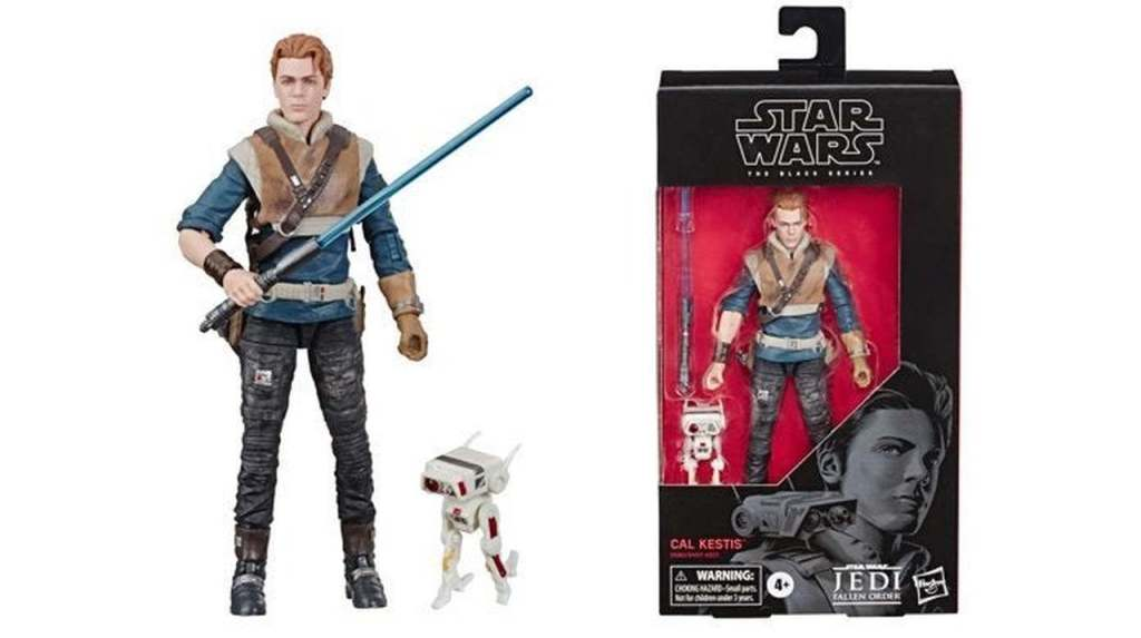 Cal Kestis Collectible Black series hasbro toys