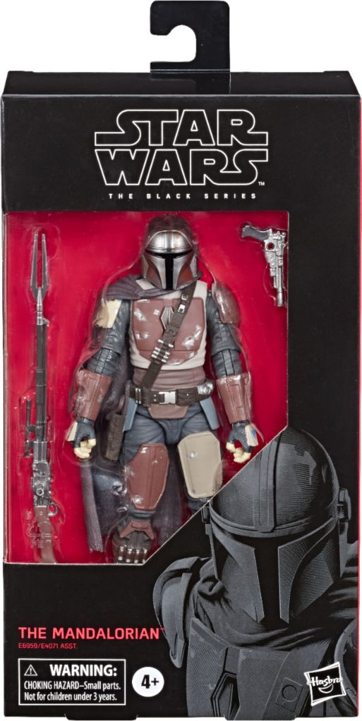 The Mandalorian Black Series toy available on Amazon