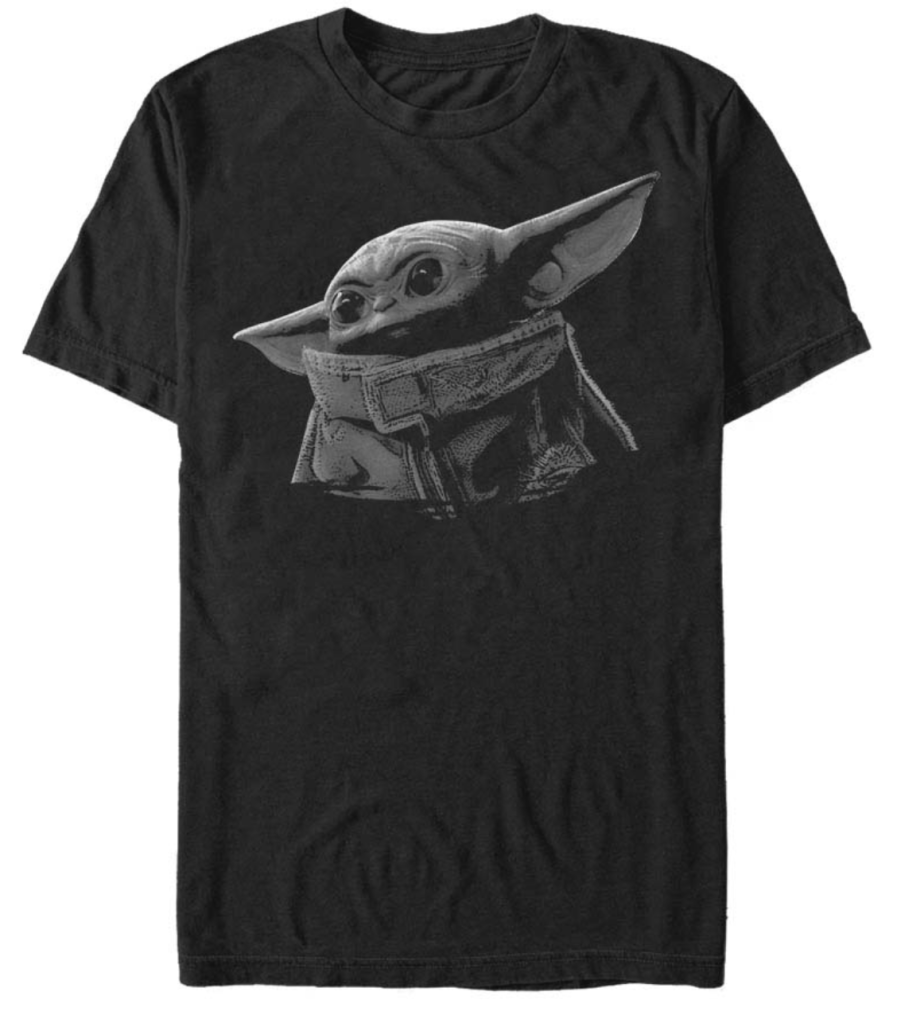 The child t-shirt in grey