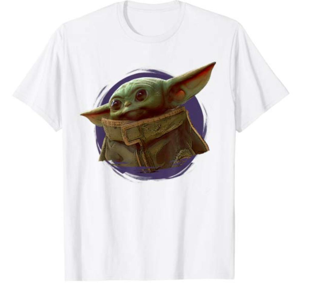 The child t-shirt purple smoke
