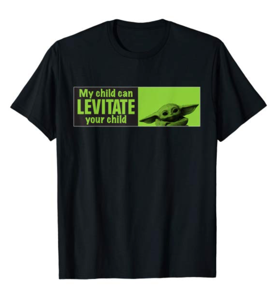 My child can levitate your child the child t shirt