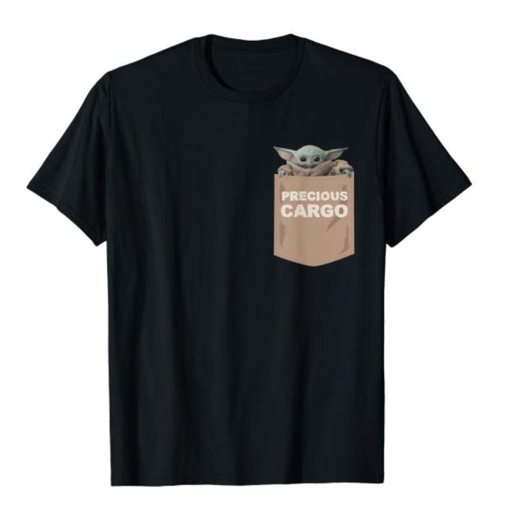 Precious cargo the child t-shirt