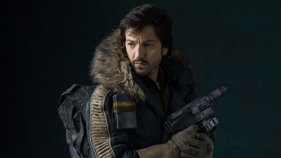 Cassian Andor the face of the new disney plus show that starts filming in june