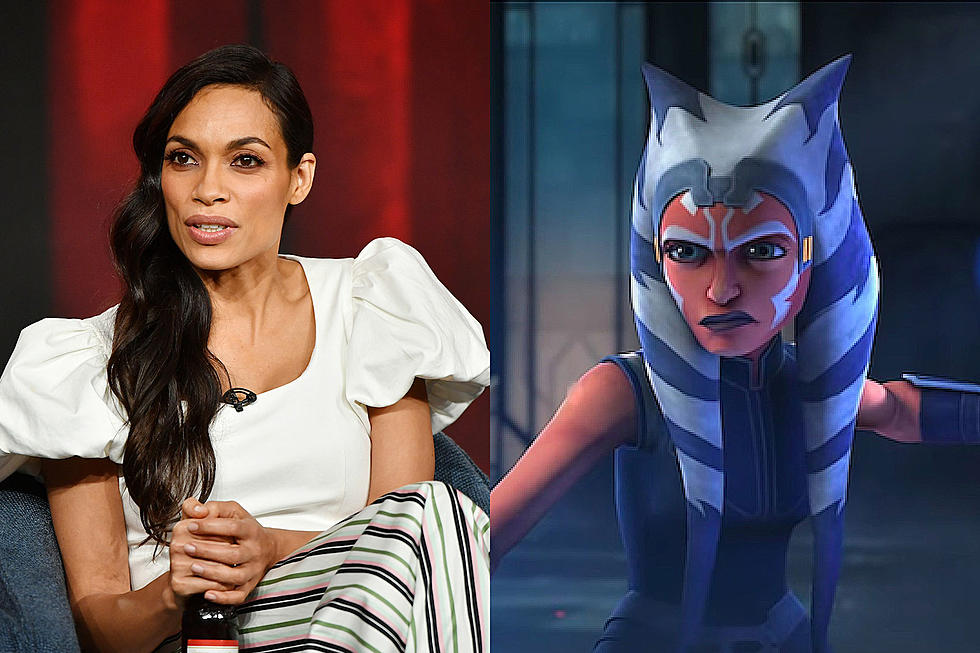 Ahsoka Tano, going to be played by Rosario Dawson, is rumored to be featured in The Mandalorian and the way it's looking, she'll only be featured for an episode or two. This is an opportunity that Disney is taking to introduce a live-action Ahsoka Tano and use this as a backdoor pilot for her show. Which makes a lot of sense because Rosario Dawson is a well known and successful actress.