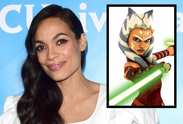 Rosario Dawson as the Jedi Ahsoka Tano in the next season of the Mandalorian