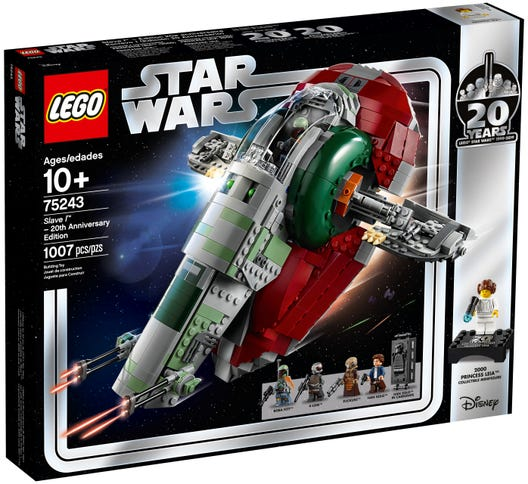 LEGO Star Wars Slave l – 20th Anniversary Edition 75243 Building Kit (1007 Pieces