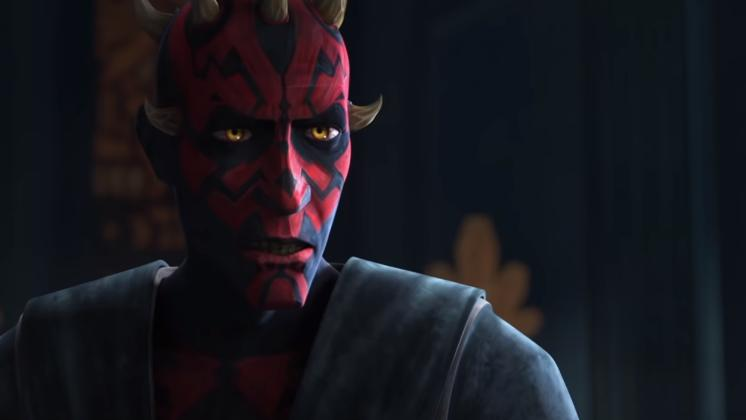 "Some troopers found a lead in the sewer system of the city. This is where Maul has been waiting to trap the Jedi coming to seize the city and take him away. Everything was prepared by Maul and carefully articulated so that he can get Obi-Wan isolated. Maul dramatically makes his appearance after his deathwatch soldiers took out the clones and got Ahsoka alone. ""Why are you here?"""