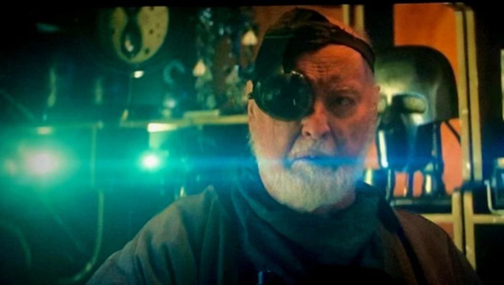 One of the most famous composer's John Williams gets a cameo in this film. He had composed all 9 Star Wars films and had announced his retirement after completing The Rise of Skywalker. Williams is the bartender with an eye-patch on Kajimi, where our heroes find Babu-Frik, the alien that can help retrieve the code from C-3PO to translate.