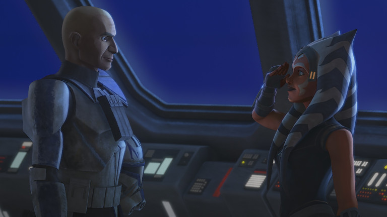 the clone wars episode 11 Ahsoka and Rex share a moment, where they see the person behind the soldier in each other. The bond that these people have created with each other should last a lifetime, unfortunately, the end of their relationship is near.