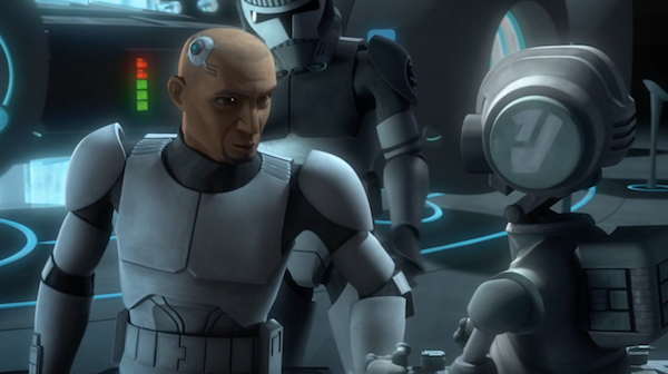 The chip is something that Fives and found out about in season 6. There were a few episodes about him on Kamino discovering the secret of the inhibitor chip and that it follows all the way up to the top. His discoveries were looked at as conspiracy and covered up by the chancellor and the Kaminoans.
