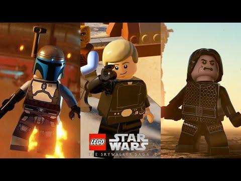 LEgo star wars the skywalker saga complete gameplay walk through premiere