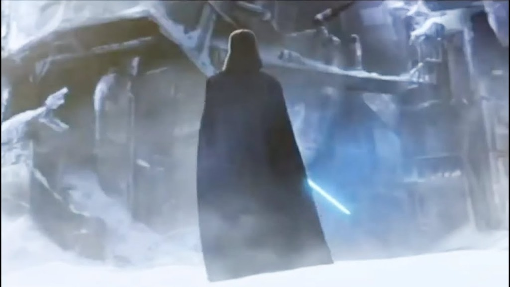 The clone wars finale episode 12 To Vader, this is enough to show she died along with the soldiers on that ship. He ignites her weapon to confirm its her blue blade, the one he changed to match his own. The emotion we felt when Anakin gave her the weapons back and now, when he picks it up out of the snow that emotion is intensified tenfold.