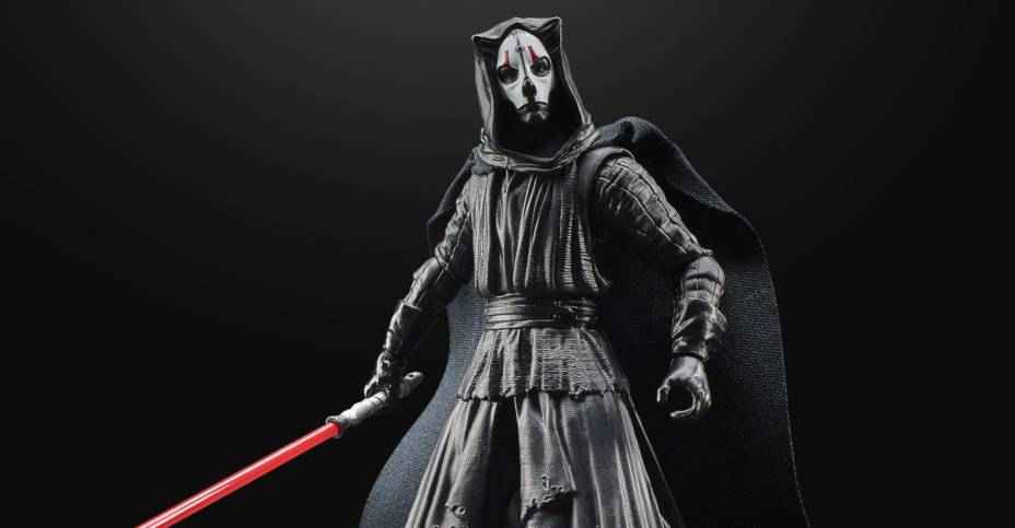Well, joining the Gaming Greats collection is Darth Nihilus from Star Wars Knights of the Old Republic II now available for pre-order at Gamestop. He will release just in time for Halloween, too coming out on October 26th.
