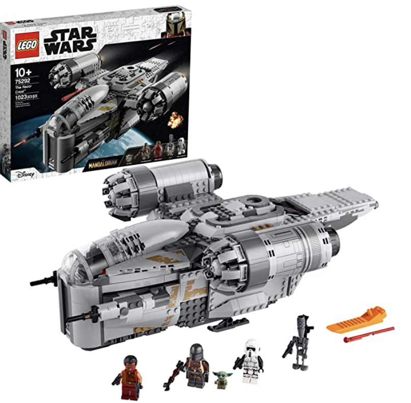 LEGO Star Wars: The Mandalorian The Razor Crest 75292 Building Kit, New 2020, Amazon Exclusive (1,023 Pieces)