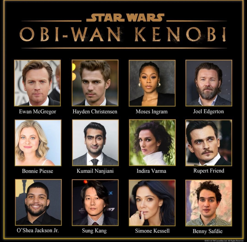 Disney had just recently revealed the cast forObi-Wan Kenobi,and it looks fantastic. Hayden Christensen will be returning to revive his role as Darth Vader; hopefully, we will see another showdown between the two.