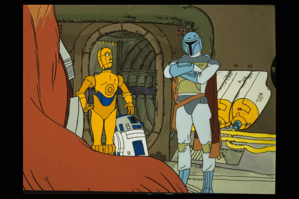 The Faithful Wookieis an animated short that premiered in 1978 as a part of theStar Wars Holiday Special. A fantastic piece of history, this is where we get our first introduction to Boba Fett. Little did they know at the time, he would become one of the most iconic figures from Star Wars.